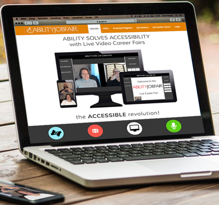 Online ABILITY Job Fair for disabled
